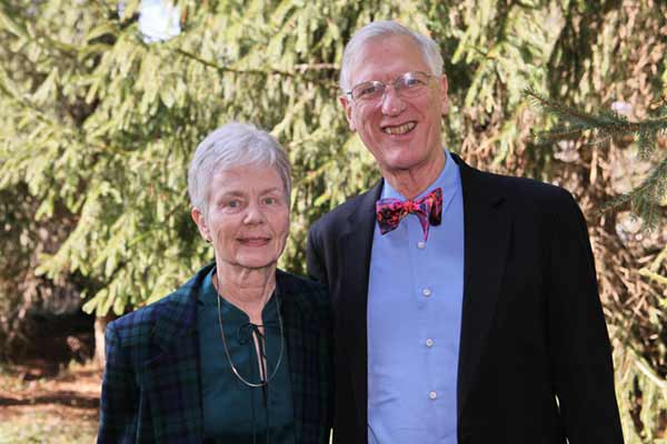 Dr. David and Beverly Kingston